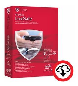 Mcafee Livesafe 2015 - 10 Dispositivos: Pc, Mac, Tablet E Sm