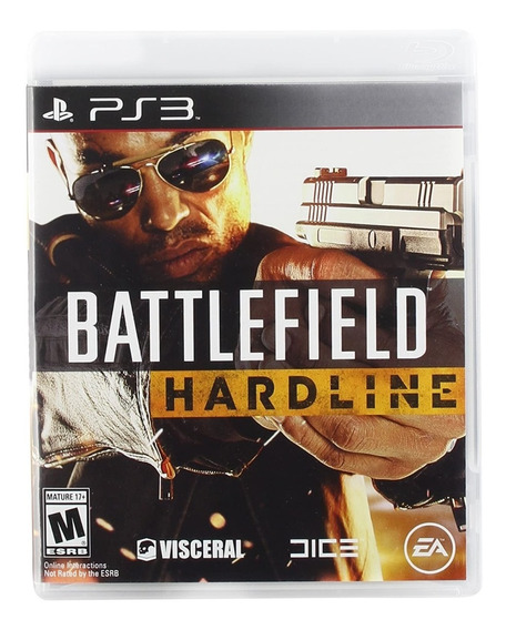Battlefield Hardline Ps3 Portugues Brasil Original