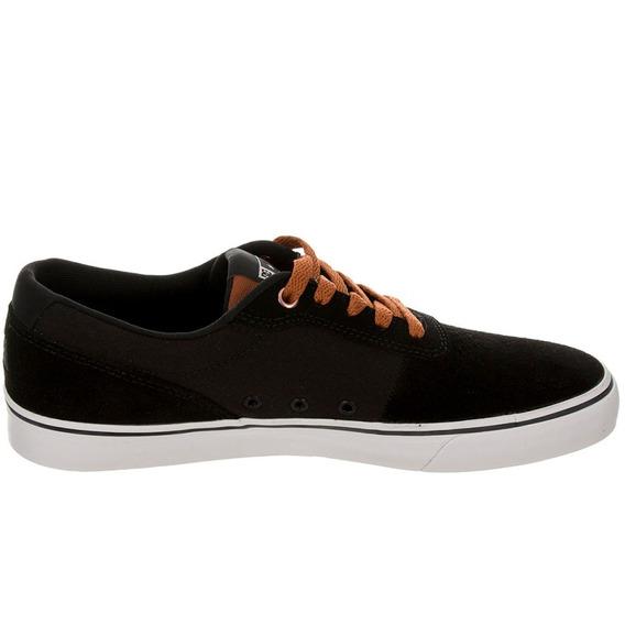 Tenis Dc Shoe Switch Preto/marrom