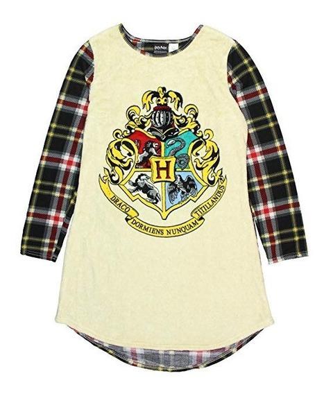 Pijama Camisón Polar Harry Potter 100% Original Sm