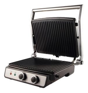 Parrilla Electrica Grill Smartlife Plegable 2 En 1 C/tapa