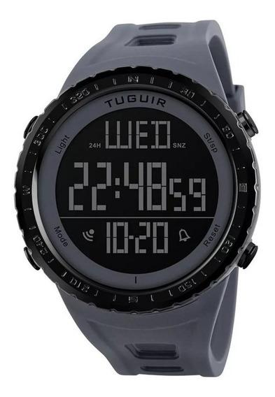 Relógio Masculino Tuguir 1246 Digital Esportivo Prova D´água
