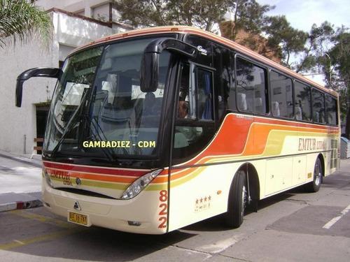 Ómnibus Carrocería Caio Chasis Agrale Año 2007 38 Pasajeros