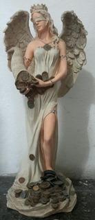 Estatua Ángel De La Abundancia