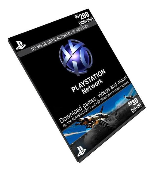Cartão Playstation Brasil
