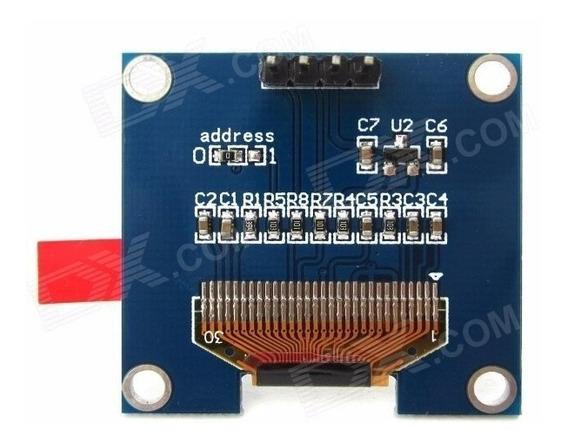 Display Oled 128x64 0.96 128x32 0.91i2c Branco Azul Amarelo