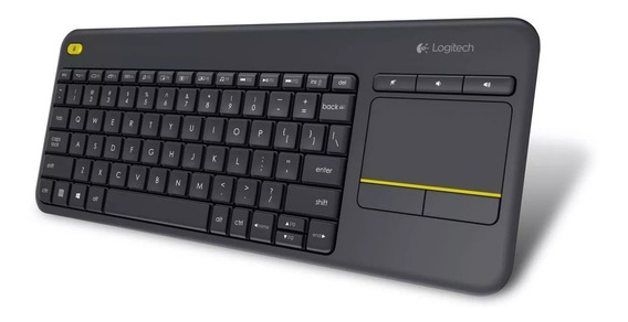 Teclado Logitech Touchpad Wireless K400 Plus Media S/j