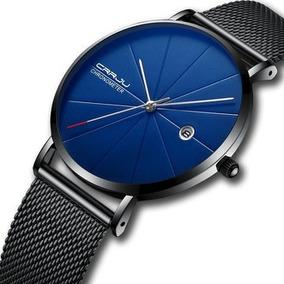 Relógio Masculino Crrju 2216 - Quartz - Calendário
