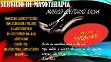 Servicio De Masoterapía/ Masaje Tantrico Y Terapía Fisica