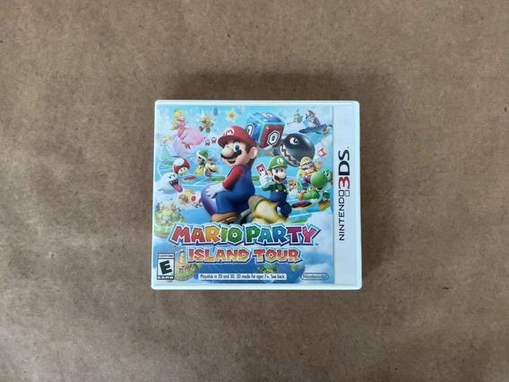 Mario Party Island Tour Nintendo 3ds 2ds Completo Americano