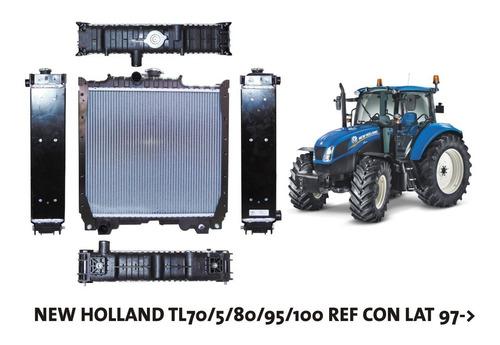 Radiador New Holland Tl70/5/80/95/100 Ref Con Lat