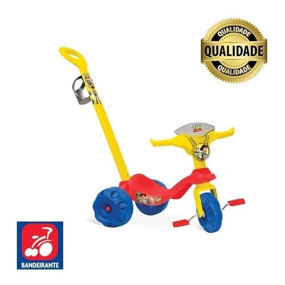 Triciclo Para Passeio Com Empurrador Toy Story Frete Grátis