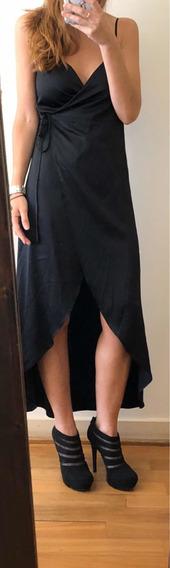 Vestido Cruzado Forever 21 Talle Small Regulable (xs)