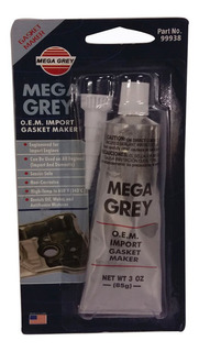Silicon Gris Alta Temperatura 85g Mega Grey Sp