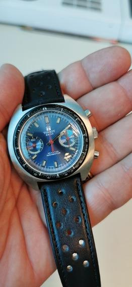 Relógio Tissot Seastar Navigator 1970 Revisado E Lindo...