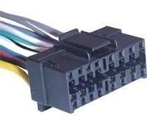 Sony Jvc Aiwa Chicote Conector Plug Soquete Cabo Cd Radio