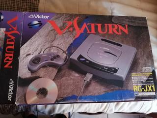 Sega Saturn Jp En Caja