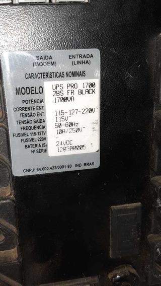 Nobreak Ts Shara Ups Pro 1700 2bs 1700va C/ 2 Bateria