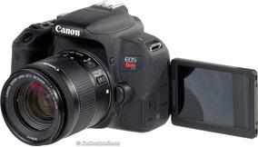 Nova Câmera Canon T7i Com Lente 18-55 Lançamento Wi-fi