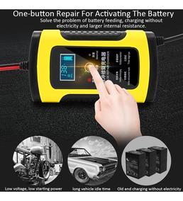 Carregador De Bateria Inteligente 6ah Com Display Lcd