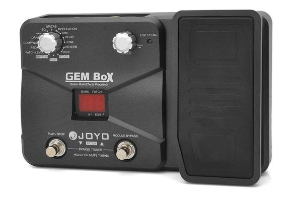 Pedaleira Joyo Gem Box Guitarra Efeitos Distorções + Brinde