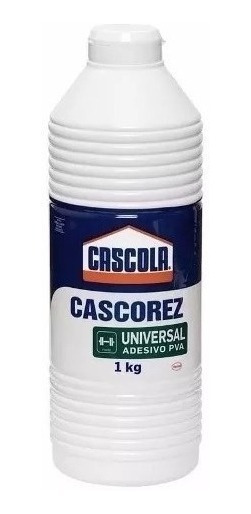 Cola Pva Branca Cascorez Universal 1kg Emb. 7 Peças