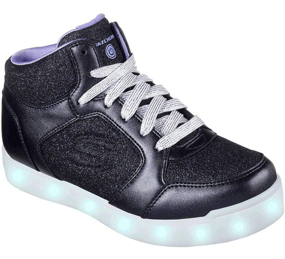 Zapatos Skechers Con Luces Para Niñas, 100% Original!!!
