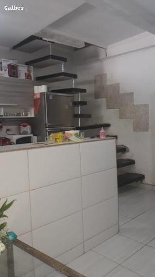 Casa Para Venda Em Embu Das Artes, (zona Leste), 2 Dormitórios, 1 Suíte, 1 Banheiro, 2 Vagas - 2000/2489_1-1278072