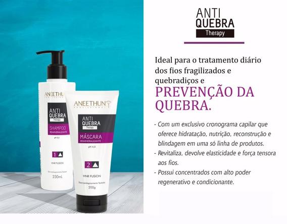 Kit Aneethun Antiquebra Therapy Shampoo+máscara 12x S/juros