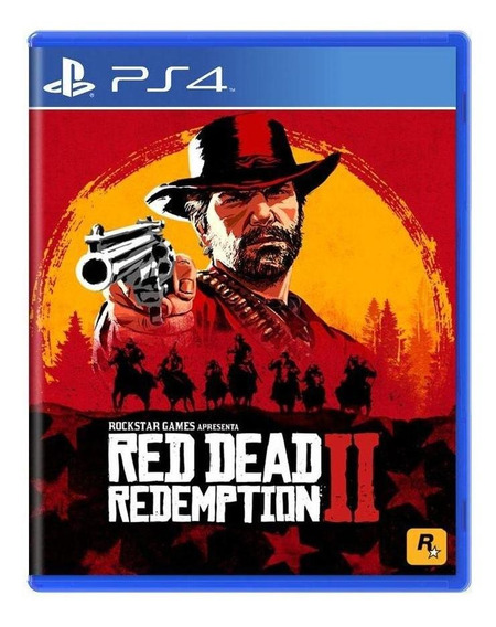 Red Dead Redemption 2 Ps4 Mídia Física Pronta Entrega
