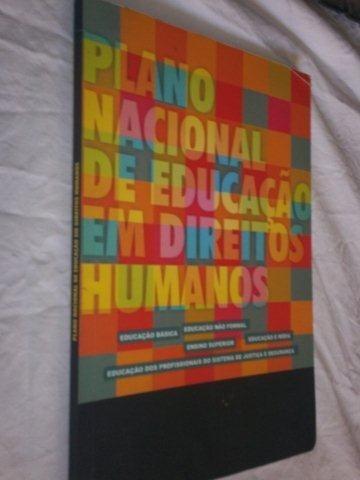 Livro - Planos Nacionais De Educação Em Direito Humanos