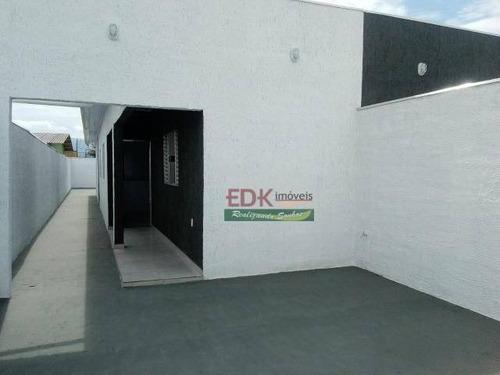 Imagem 1 de 11 de Casa Com 2 Dormitórios À Venda, 75 M² Por R$ 215.000,00 - Morro Do Algodão - Caraguatatuba/sp - Ca6236