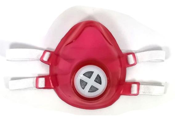 Cubreboca Filtro Carbon Mascara Protectora Lavable Reusable
