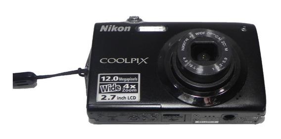 Câmera Digital Nikon Coolpix S3000 Para Retirada De Peças