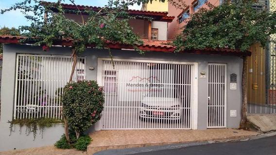 Casa Com 3 Dormitórios À Venda, 170 M² Por R$ 739.000,00 - Vila Mazzei - São Paulo/sp - Ca0080