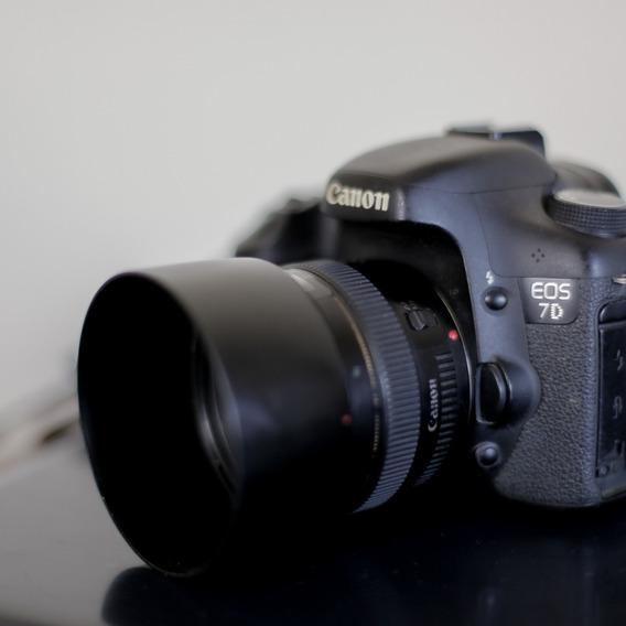 Canon 7d + Lente 50mm 1.4