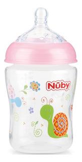 Mamadeira Bebê Anti Cólica Bico Imita O Seio Da Mamãe 270ml