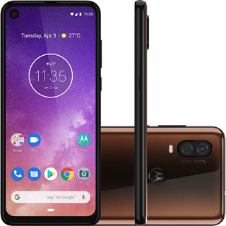 Celular Motorola Moto One Vision 128gb 4gb Camera 48mp Novo!