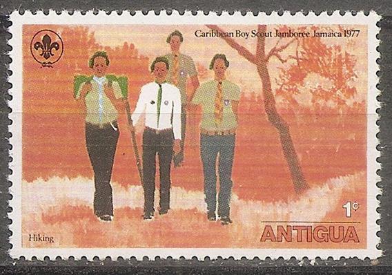 Antigua Colonia Inglesa Boy Scout Yvert 456 Nueva Sin Goma