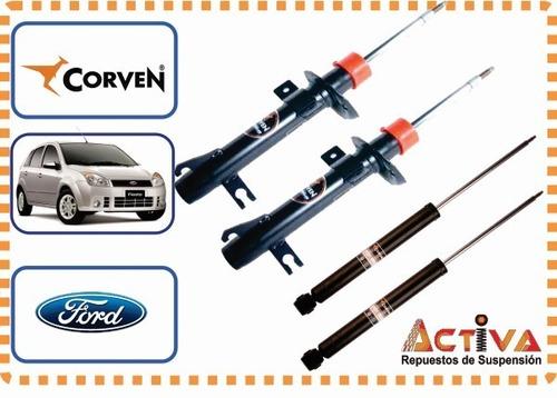 Imagen 1 de 7 de Kit 4 Amortiguadores Fiesta Max Ambiente Corven