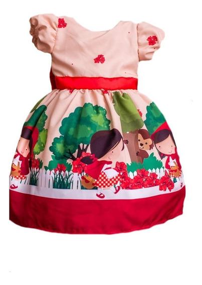 Vestido Da Chapeuzinho Vermelho Com Capa