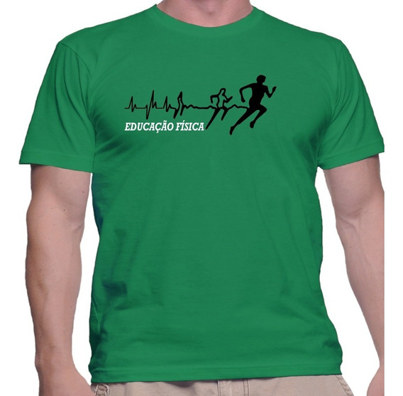 Camisa Camiseta Personal Trainer Educação Fisica Esportes