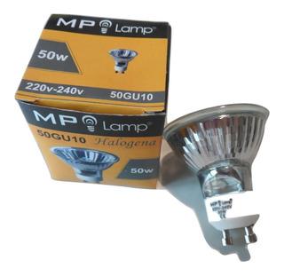 Lámpara Dicroica 50w Mp Lamp 220v Gu10 Dimerizable