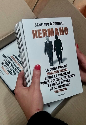 Libro Hermano De Santiago O Donnell