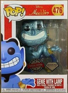 Funko Pop Aladdin 476 Genie With Lamp Nuevo Magic4ever