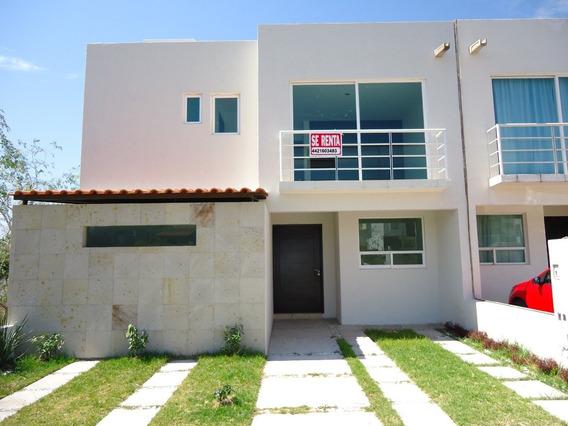 Renta Casa 3 Recamaras Amplias En El Mirador Cuarto Servicio