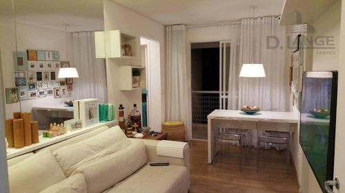 Imagem 1 de 18 de Apartamento Residencial À Venda, Centro, Campinas - Ap13763. - Ap13763