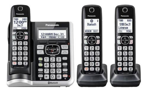 Imagen 1 de 2 de Teléfono inalámbrico Panasonic KX-TGF573 negro