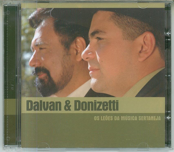 Cd Dalvan & Donizetti - Os Leões Da Musica Sertaneja