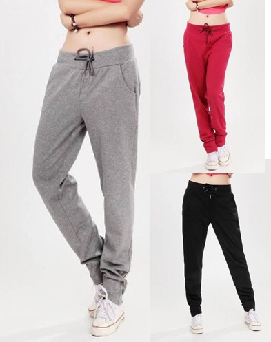 Calça De Moleton Feminino Skinny Slim Swag Sports
